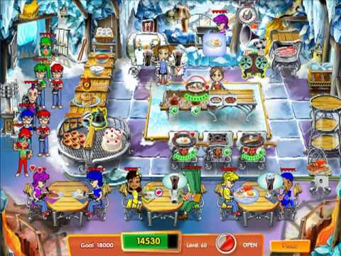 Cooking Dash 3: Thrills And Spills - Expert Mode Level 60 (Collector's Edition Exclusive)