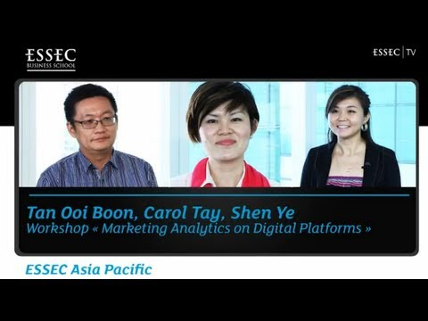 ESSEC Asia-Pacific: Workshop, Marketing Analytics on Digital Platforms