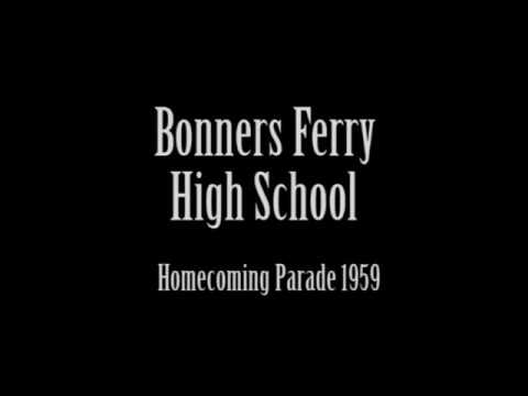 Bonners Ferry High School Homecoming parade 1959