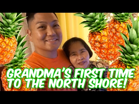NORTH SHORE HAWAII FOOD TOUR WITH GRANDMA! 🍍