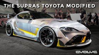 Even Toyota are modifying the Mk5 Supra!