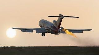 Uçak 11 X 4544 Aerosucre Uçuş - Kaza Animasyon [ -]