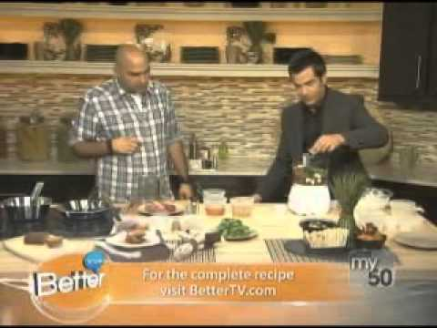 Chef Michael Psilakis creates healthy Greek dishes on Better TV ...