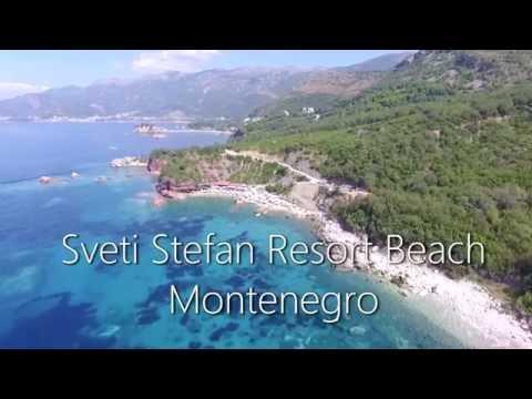 Sveti Stefan Beach, Montenegro 2016