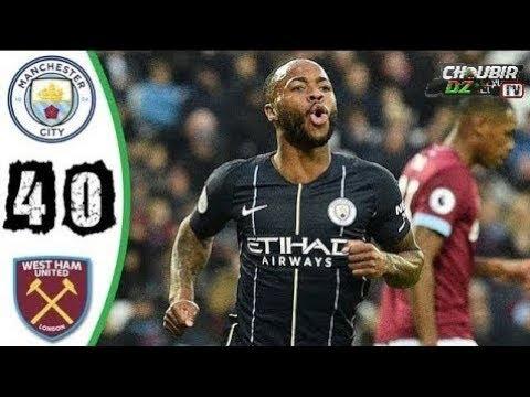 West Ham Vs Man City 0 - 4 Premier League 24/11/2018