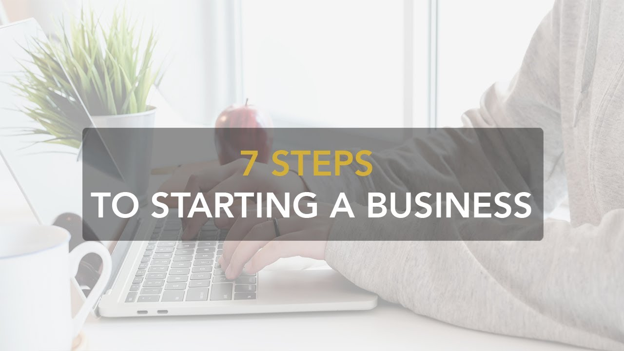 7 steps to starting a business
