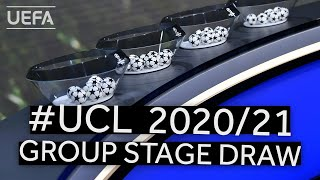UEFA CHAMPIONS LEAGUE 2020/21 Group Stage Draw & UEFA Awards