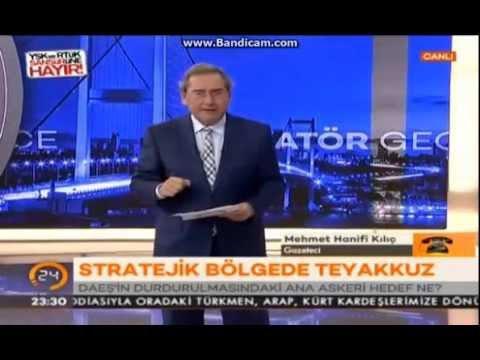 Usta Gazeteci Mehmet Hanifi Kılıç 24TV'...