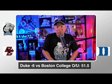 Duke vs Boston College 9/19/20 Free College Football Pick and Prediction  CFB Tips Week 3 Betting