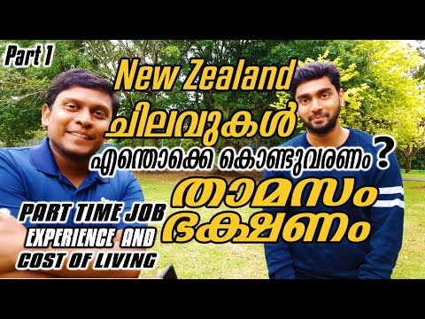 Part Time Job Experience And Cost Of Living In New Zealand | Malayalam Vlog | Mallu In New Zealand