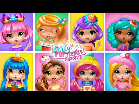Party Popteenies Surprise - Rainbow Pop Fiesta for BFF Girls   TutoTOONS Cartoons & Games for Kids