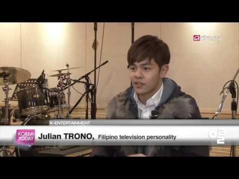 Julian Trono on Arirang TV