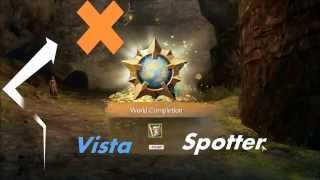 Guild Wars Two (Gw2) Wildflame Caverns Vista | Metrica Province  | Vista Spotter