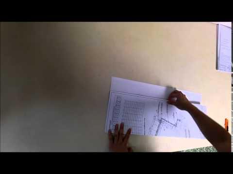 Как складывать лист а1 по госту