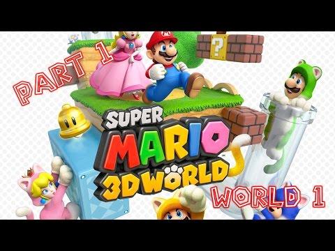 Super Mario 3D World(CEMU) - Let's Play Part 1