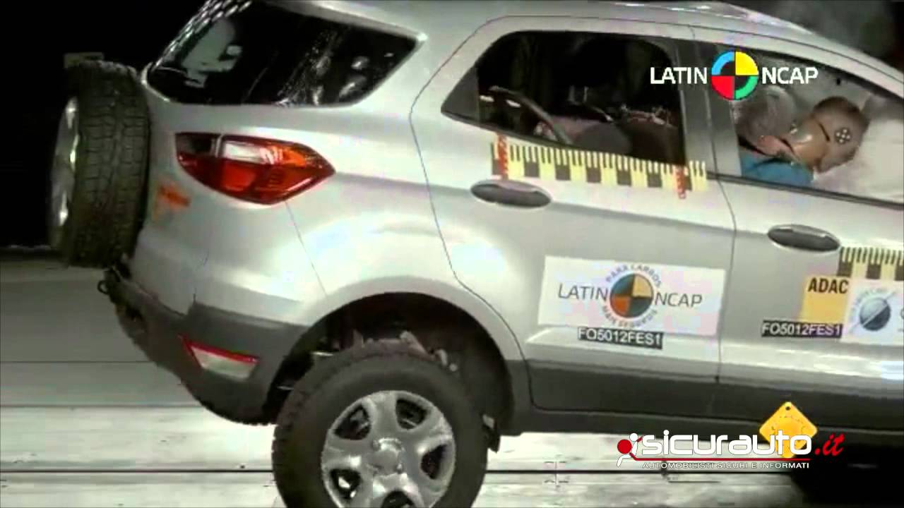crash test latin ncap ford ecosport viyoutube. Black Bedroom Furniture Sets. Home Design Ideas