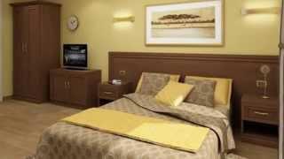 Présentation  chambres d'hôtel et hôtel appartement