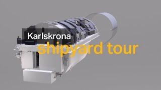 homepage tile video photo for Welcome to our shipyard in Karlskrona