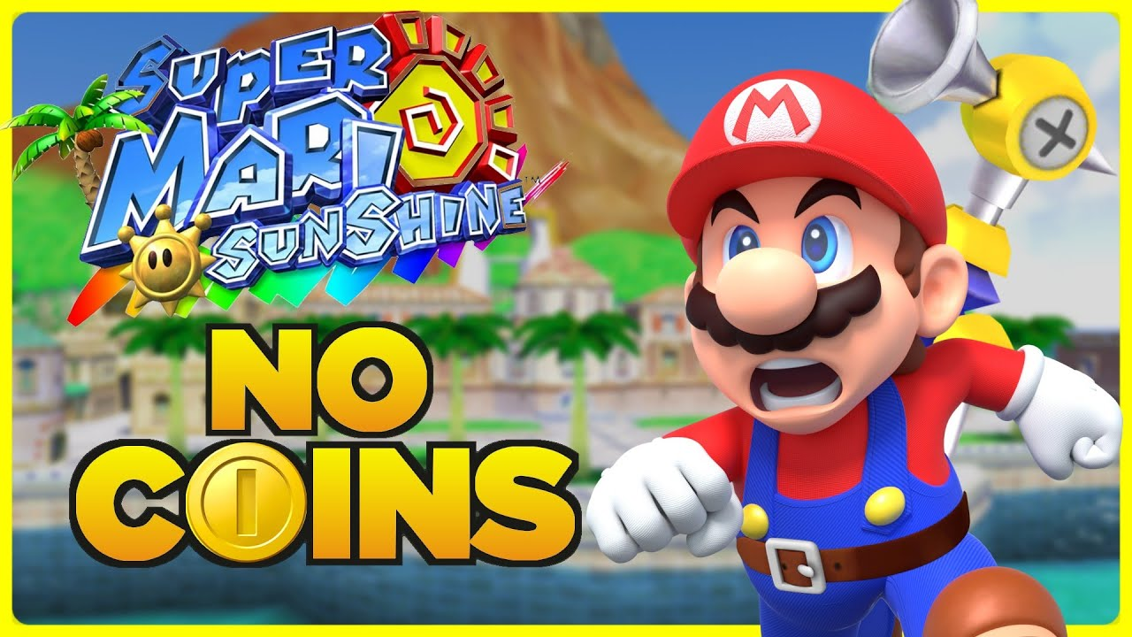 Is it possible to beat Super Mario Sunshine without touching a single coin?