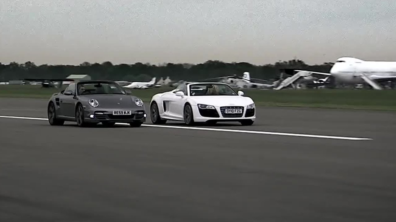 Audi R8 Vs Porsche 997 Top Gear Series 15 Bbc