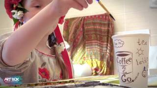 Урок в художній майстерні Art Box
