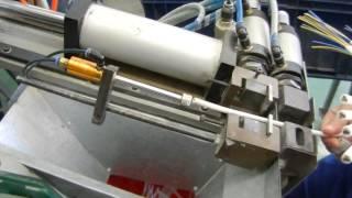 Снятие оболочки с провода ПВС(Видео технологических операций по изготовлению сетевых шнуров. ООО