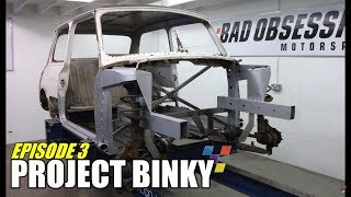 One of Bad Obsession Motorsport's most viewed videos: Project Binky - Episode 3 - Austin Mini GT-Four - Turbo Charged 4WD Mini