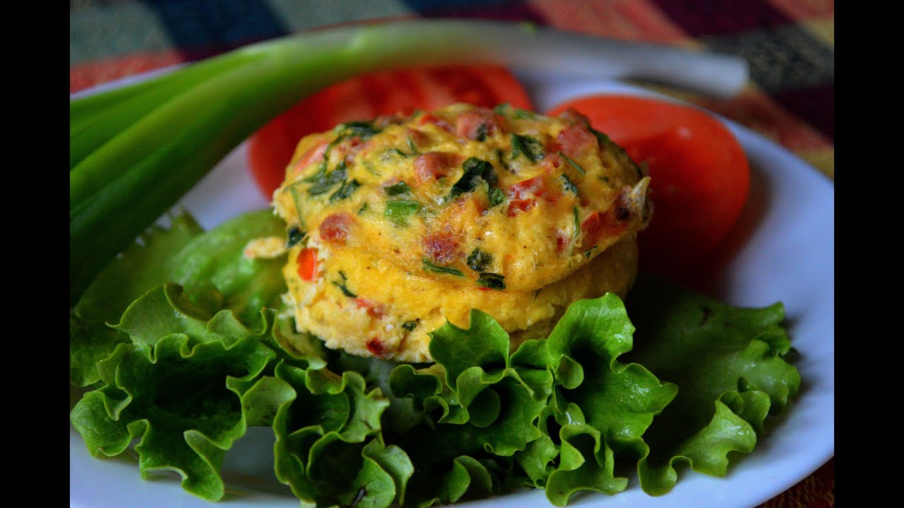 Egg muffins microwave recipe