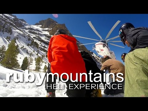 GoPro Heli-Skiing in the RUBY Mountains Nevada