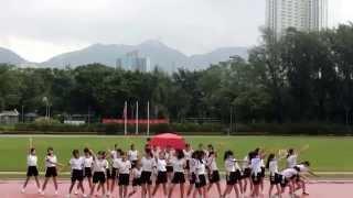 香港培道中學2015-2016運動會 曈社啦啦隊