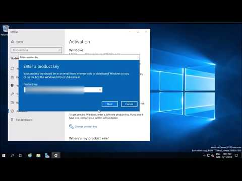 Rename & Activate Windows Server 2019