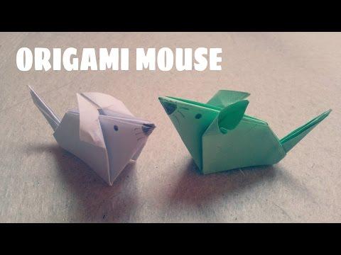 DIY - Cách gấp con chuột - Origami