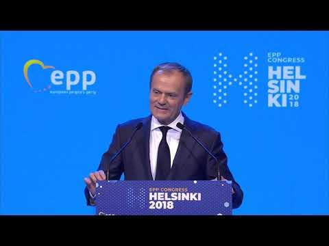 EPP Helsinki Congress - Donald Tusk, President Of The European Council