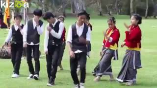 nepali dance by bahing rai during the kirat sakela ubhauli in australia