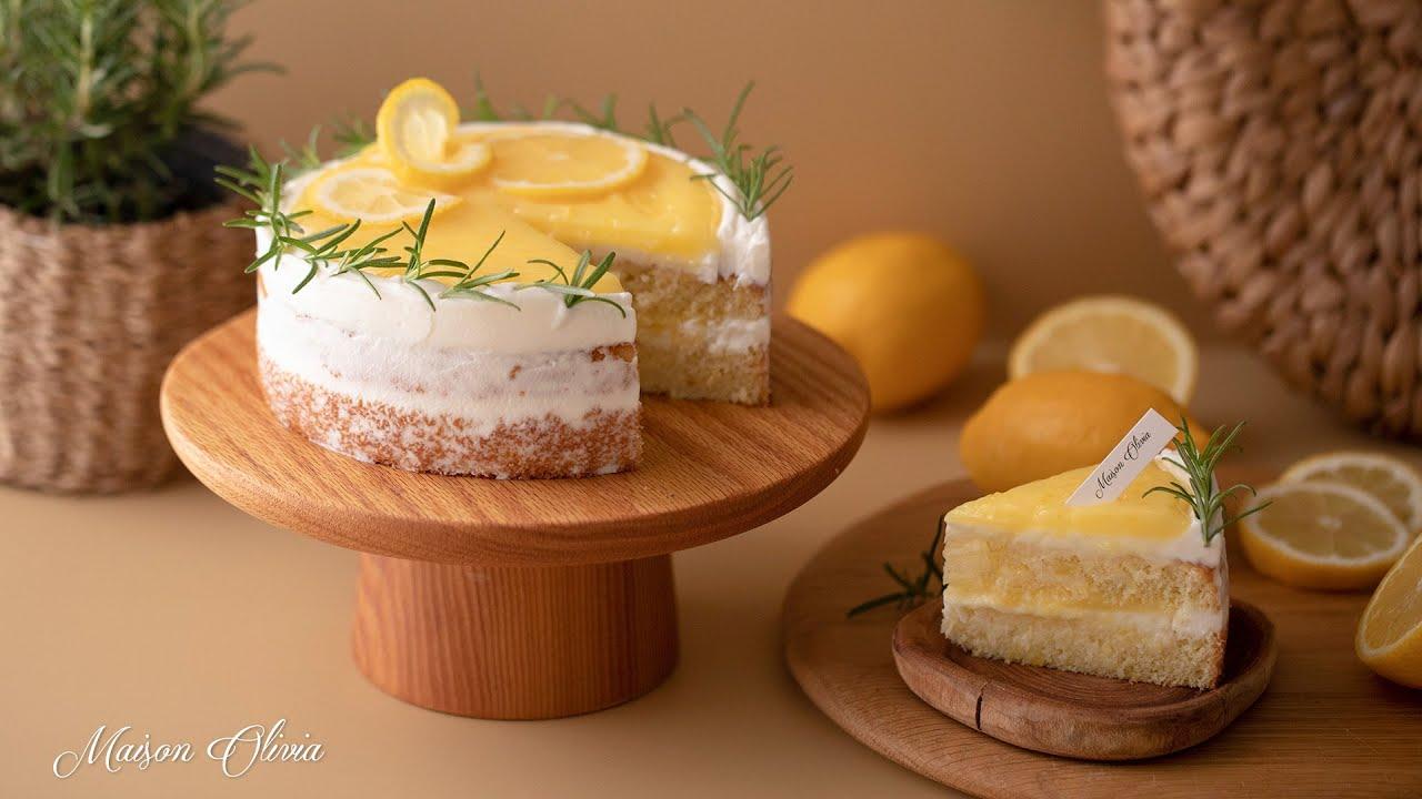[SUB] 컨트리 스타일  레몬케이크 (country-style Lemon Cake)