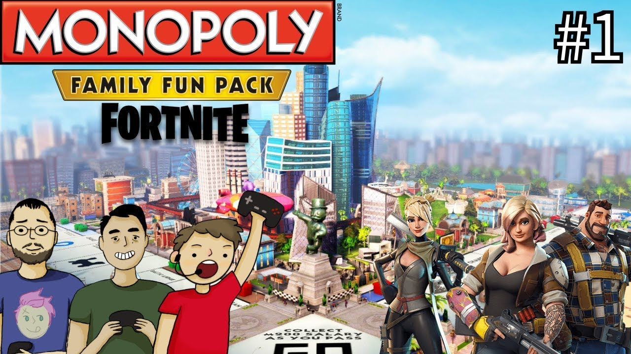 Monopoly Fortnite Edition Part 1 The Idea Youtube
