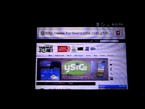 Samsung Galaxy Y Pro B5510 - Hands-on Demonstration