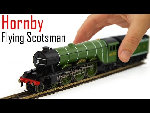 Unboxing the Hornby Railroad A1 Flying Scotsman