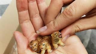Unboxing Breyer Empress, Mason, Safari Ltd tinker, schleich Morgan and wild cats papo