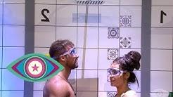 Ekel-Challenge: Flüssigkeiten erkennen mit Tobi und Janine | Promi Big Brother 2019 | SAT.1