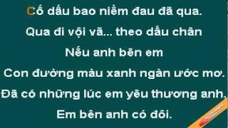 Noi Nho Ngay Dong Karaoke - Hoang Hai - CaoCuongPro
