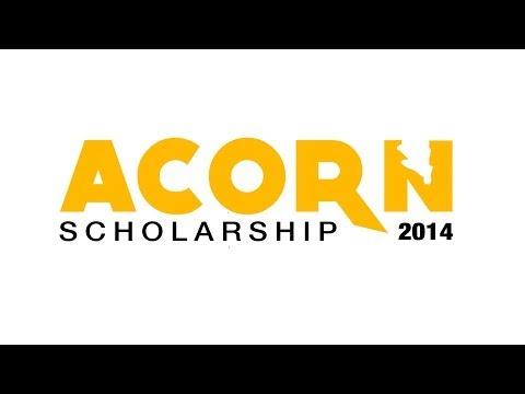 Acorn Scholarship 2014