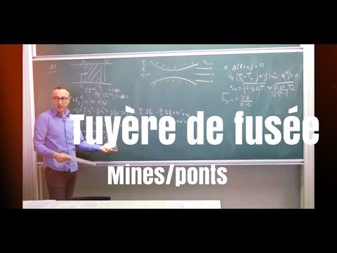 Bilan d'énergie/tuyère- Mines Ponts physique 1 2015 (2/5)- Toutes filières MP/PSI/PC
