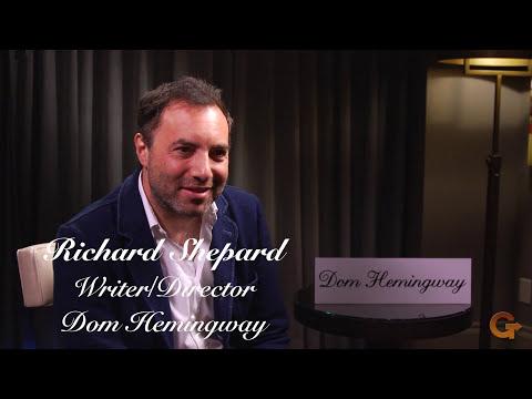 Dom Hemingway   WriterDirector Richard Shepard