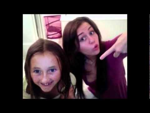 miley and noah cyrus personal and family photos - YouTube