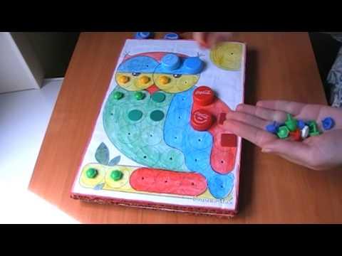 Развивающие игры своими руками для малышей