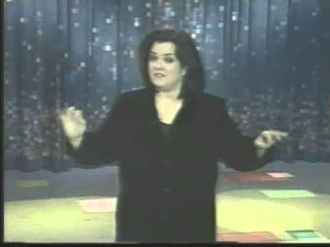 Candy Queen's  on Rosie O'Donnell Show #3 - MMs Birthday card 3-19-1999