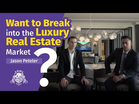 Want to break into the luxury real estate market?  Interview with former student Jason Peteler