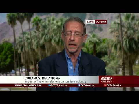 CCTV interview with travel writer and Cuba expert Christopher P. Baker