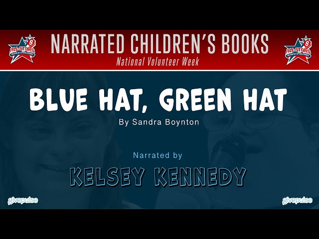Blue Hat, Green Hat narrated by Kelsey Kennedy